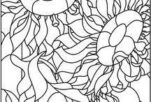 colouring pages / värityskuvia