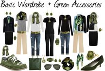 color palette and wardrobe
