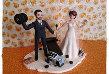 sasha wedding cake topper