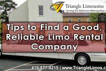 Tips to Find a Good, Reliable Limo Rental Company