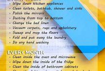 lista curățenie