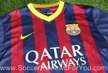 2013 La Liga Kits