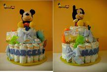 Tartas de pañales entregadas :) / En este tablero encontraréis todas las Tartas de pañales para bebés y papás que vamos entregando, tanto en nuestros puntos de venta como a través de nuestra página web www.caprichosisama.com