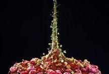 Grene med blomster