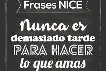FRASES INSPIRACIONALES / Frases inspiracionales NICE