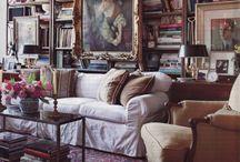 Elegant eclectic rooms