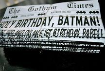 Batman party -ideas