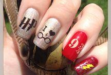 Harry Potter Nail Art / Ideas of magical nails
