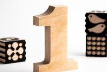 Wooden Numbers / Wooden numbers crafted from quality birch plywood, hand-finished.   Perfect as a bookshelf decoration for home or office, a personalised gift for birthdays and anniversary. Beautiful when standing alone, in combination with other numbers or letters marking specific dates or meanings.