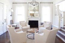Living room/ Dining room / by Rachael Ballard