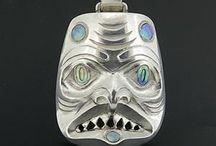 11 Gwaai Edenshaw / Haida Animator Jeweler Woodcarver http://gwaai.com/ https://youtu.be/-KYiGc_HmnI (animation w/ wooden carvings)