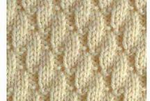 Könnyű kötés minták