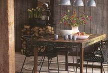 Rustic romance interior style