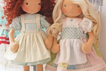 Dolls. Handmade Sewing. Waldorf