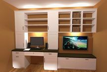 office and playroom idea