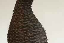 basketry, multi media vessels / by Alessandrina