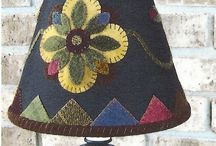 Quilts ~ Wool Applique / by Leona Dykes