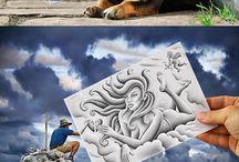 dibujos surrealistas