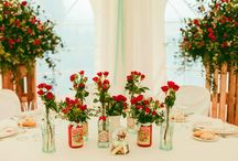 {palette} mariage rouge