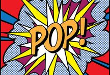 Pop art&comix / Posters modern and oldfashioned