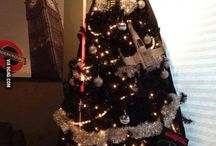 DARTH  VADER. CHRISTMAS. TREE