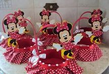minnie si mikey mouse