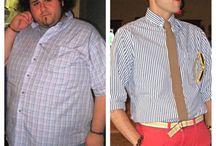 Men weight loss transformation