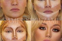 Приёмы макияжа