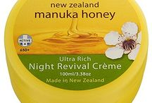 New Zealand Beauty Skincare products  / Discover some of New Zealand's renowned range of Manuka Honey Beauty products including their Royal Nectar celebrity today are using.