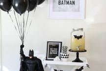 batman themed birthday