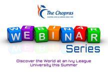 Webinar on Summer Programmes in Columbia University – The Chopras