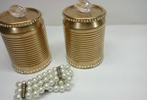 artesanato viviane magalhaes .  latas .