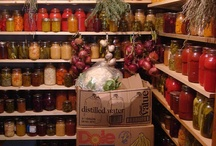 Food | Organization / Ideas for storing food for rainy days, long winters or worse.