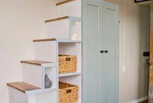 mezzanine et escalier