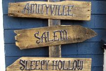 Pallet signs (Halloween, Christmas, Mud Kitchen Etc)
