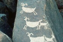 California Petroglyphs / The art history of California goes back thousands of years.