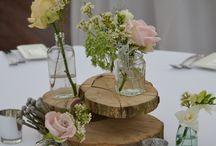 Rustic Wedding Flowers by Eden Blooms Florist / Eden Blooms work at various venues showing rustic style flowers