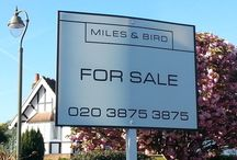 Properties Miles & Bird / Houses for sale Surrey, Middlesex, & South West London.