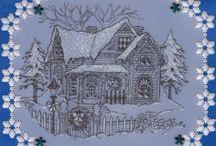 Cartes pergamano Noel