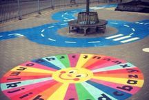 Zoneparc game zone / Alphabet games, circle games and traffic games make a dull playground colorfull and fun.