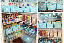 Pretty Pantry Organization