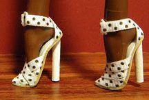 scarpe miniature accessori