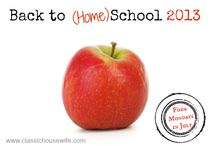 Back to School Ideas / Sharing Back to homeSchool ideas or curriculum choices