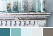 Main Floor Redo in Shades of Grey / by Kelly Nixon