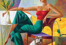 Cuban Oil Painting