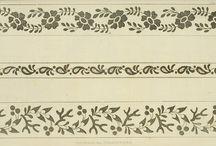 Embroidery/Needlework patterns Regency