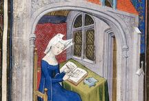 The Queen's Book / BL MS Harley 4431, The Book of the Queen, Selected Works of Christine de Pizan, 1410-1414AD.
