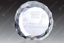 Econo-Line Awards / Large selection of clear glass awards, jade glass awards and crystal awards under $100.00