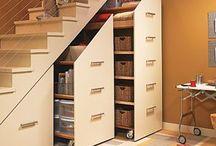 szafy pod schodami
