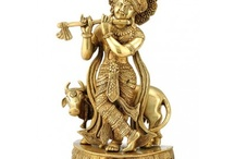 Hindu God Statues / A sample of our collection of artwork depicting statues of Hindu gods and godesses.